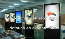 """New style 42"""" LED Infrared touch Kiosk for showroom or supermarket"""
