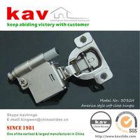 """3/4"""" cover 3D cam adjustable self closing cabinet door hinge"""