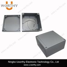 Sealed Diecast Aluminium Junction Enclosures with Flanges 5.51 X 5.51 X 3.93 In