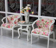 Factory Wholesale Price Upholstered Wooden Leisure Chair