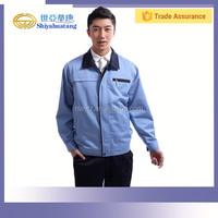 professional cotton and polyester work wear clothes