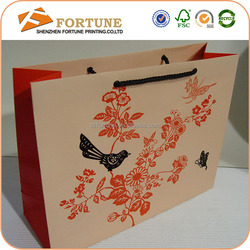Factory Manufacturer Low Cost Paper Bag/Recycle Paper Bag/Advertising Paper Bag