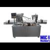 MIC-L45 Liquid /comestic cream/shampoo/liquid soap filling and capping machine for bottle , 4 heads straight line filling machin