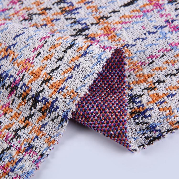 Ropa de textil de poliéster de algodón italiano de punto doble tejido <span class=keywords><strong>jacquard</strong></span>