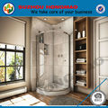 Circular hsr02-90031 recinto de la ducha de perfiles de aluminio para mamparas de ducha