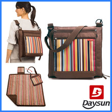 picnic backpack foldable picnic mat with cooler bag foldable picnic blanket