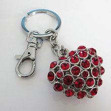 heart shaped keyring
