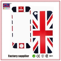Free sample resuable Mobile custom phone PVC sticker decal skin