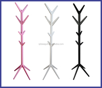 IKEA tree shaped free diy wooden coat/hat/clothes stand rack/hanger