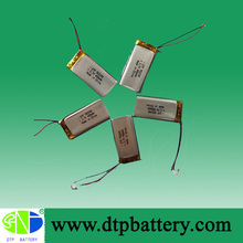 3.7V rechargeable battery 3.7v 500mah