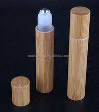 20ml roll on bamboo perfume bottle, moroccan perfume bottle, empty perfume roll on bottle