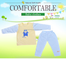 100% nature without any dying for infant organic cotton baby clothing