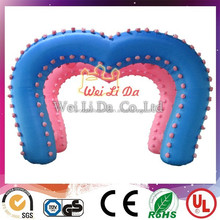 2015 NEW advertising inflatable wedding arch