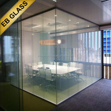 laminated Privacy Glass manufacturer,OOpaque treatment pdlc material window glass tinting EB GLASS BRAND