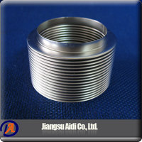 China wholesale market large diameter double walls stainless steel bellow