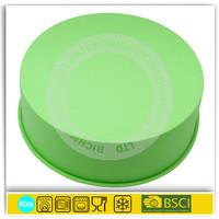 silicone round shaped cake pop pot pan baking mould
