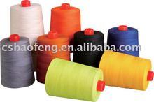 Aramida hilo de coser de extinción de incendios para ropa/hilo nomex