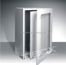 TIBOX Plexiglass door and Inner door metal distribution box wall mount distribution box