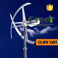 5kw vertical windmill generator fo rsale, 5000w vertical wind turbine price
