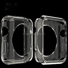 Transparent TPU Silicone Slim Protective Case Cover For Apple Watch 38/42mm