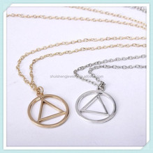 Stainless steel vintage 2015 fashion hip hop necklaces for men and women Eminem fans