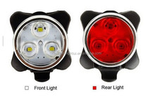2015 NEW design BFE bicycle accessories,LED Bike Tail light , USB Rechargeable bike light set