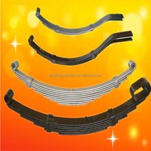 leaf spring for truck suspension system