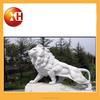 Sex girl and lion stone garden sculpture for fountain