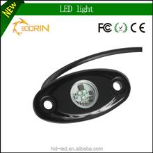 9-32v DC car led rock light five colors 9w 12v led rock light for ATV, UTV, Trucks, Cars, outdoors, Jeeps