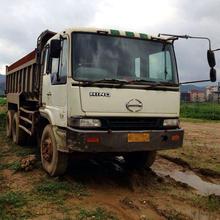 used japan hino dump truck, right hand driving dump truck