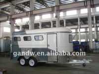 Double axle Three Horse Trailer 3 Horse Float 3 Horse Angle Load