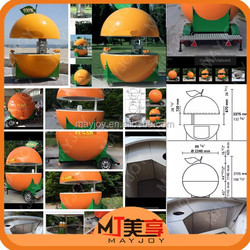 New Arrival Zhengzhou MAYJOY Food Cart/Orange Fruits Tralier/Catering Tralier/Mobile Catering Shop