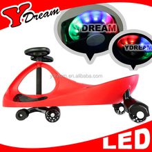 CE EN71 Approved Children And Adult Swing car plasma car twist car With LED Wheel With Original Design