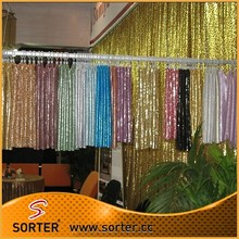 Luxury Glitter Mesh Fabric Wedding Decoration Party Decoration