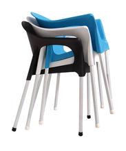 modern patio furniture dining fiberglass chair