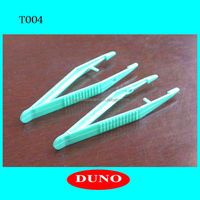 high quality Medical /Surgical plastic tweezers with good quantity