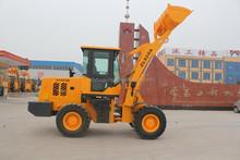 ZL20 mini wheel loader for sale / 2.0 ton mini articulated front end wheel loader / pallet fork wheel loader , hydraulic 4wd
