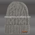 2015 algodón venta al por mayor o de lana beanie invierno sombrero