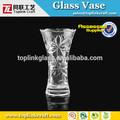 jarrones de cristal nueva llegada de venta al por mayor de martini vidrio florero para centros de mesa