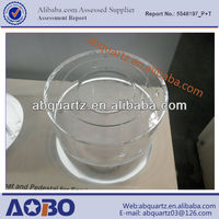 High-purity quartz base in different types