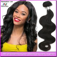 Top Quality Grade 6A Virgin human hair Cheveux Extensions Humains Bresilien cheveux bresilien Hair