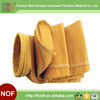 Air Filtration Baghouse P84 Filter Bags , Pulse Jet Bag Filter Dust Collector