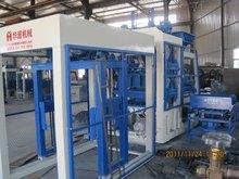 Full-automatic concrete bricks producing machine line for making concrete blocks
