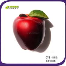 daily popular fruit resin fridge magnet