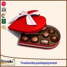 custom luxury chocolate box/chocolate strawberry boxes packaging/heart shape chocolate packaging boxes