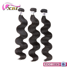 2015 XBL Excellent Quality 8A Grade Chemical Free 20 inch Virgin Indian Remy Hair Weft