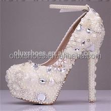 fashion hot bridal wedding shoes beautiful wedding shoes