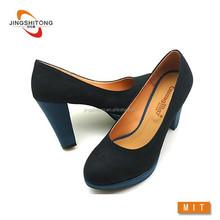Comfortable 2015 platform heels high lady shoe heels with platform dress shoes