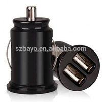 factory wholesale dual usb receptacle cigarette lighter