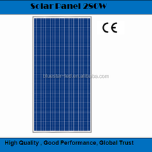 A grade cell high efficiency BCT280-24 poly 280W solar panel